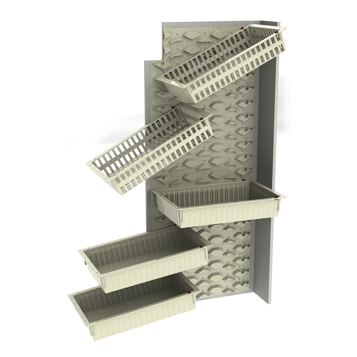 Medical cabinets FLEX panels