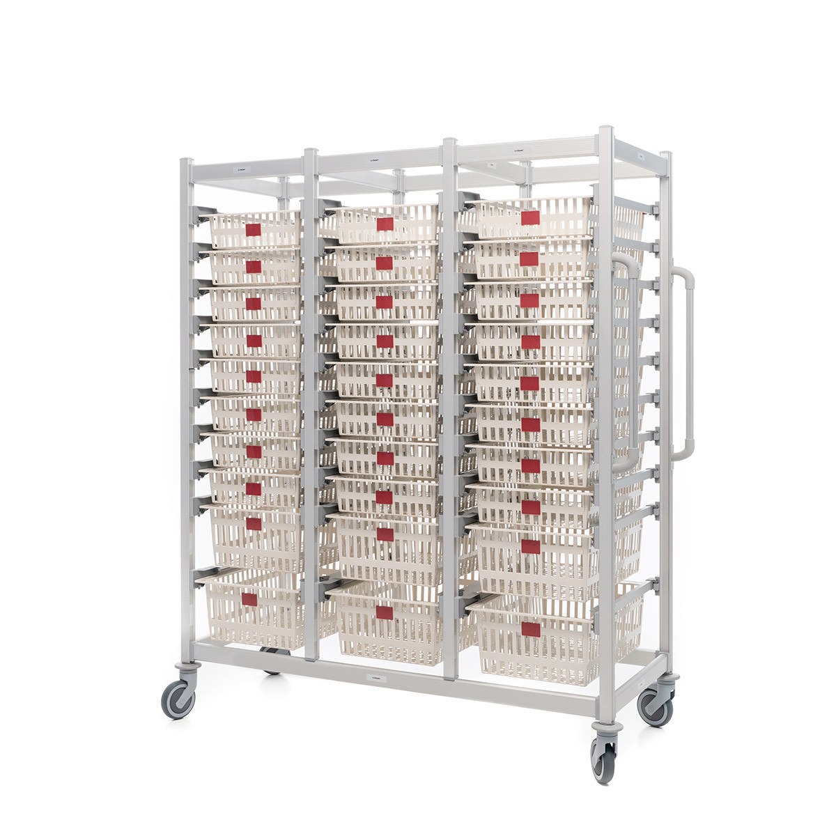 Open transport medical carts