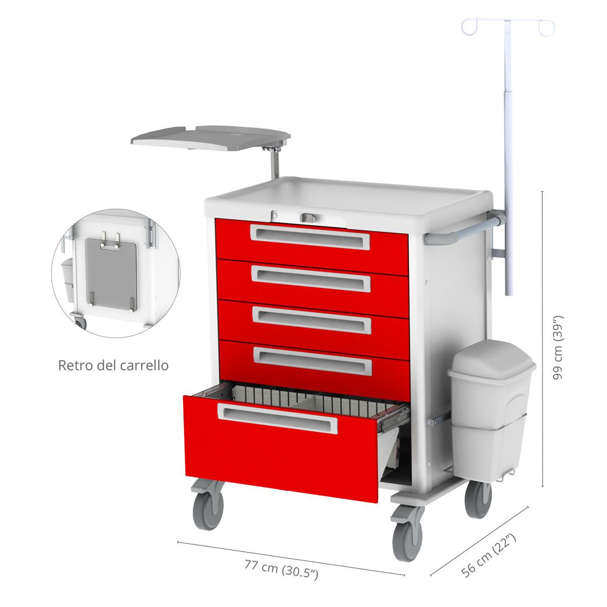 Premium emergency cart