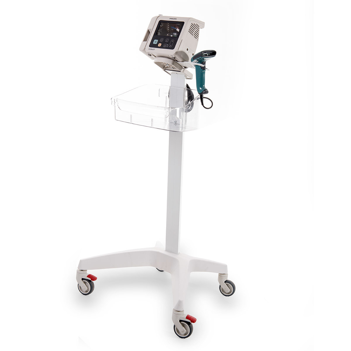 Roll stands for electromedical equipments