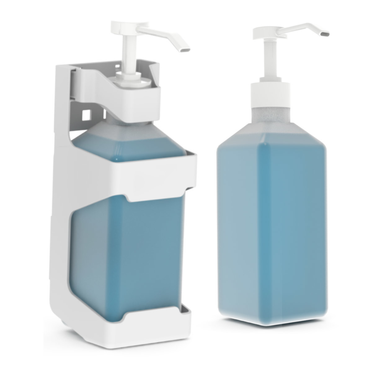 Hand sanitizer bottle holder